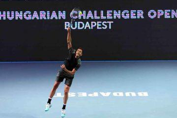 ATP CHALLENGER ÉS WTA nemzetközi versenyre kilátogatás a tenisziskolával, labdaszedő büszkeségeink